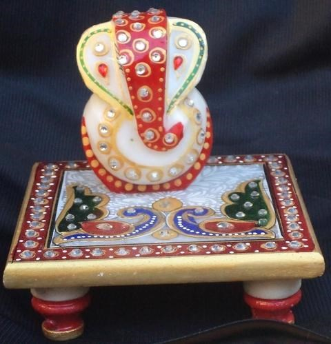 Ganesh on chowki