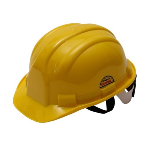 Prima Safety Helmet Yellow Ratchet Type, PSH-03, Pack of 5