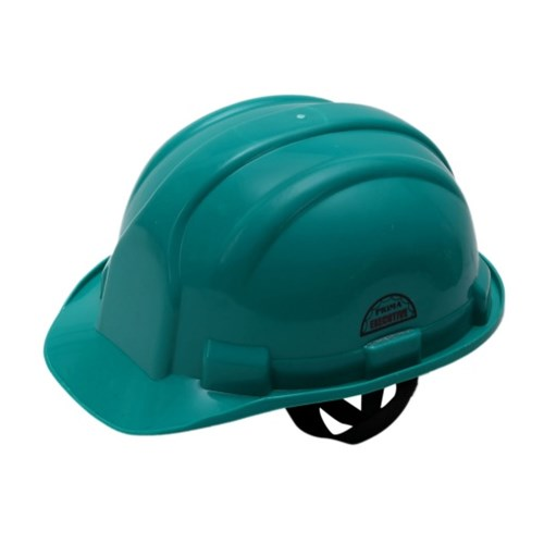 Prima Safety Helmet Green Nape Strap, PSH-02, Pack of 5