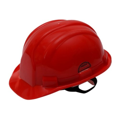 Prima Safety Helmet Red Nape Strap, PSH-02, Pack of 5