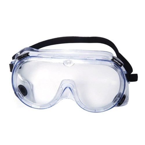 3M Chemical Goggles, Clear, Protective Splash 1621IN, Pack of 5