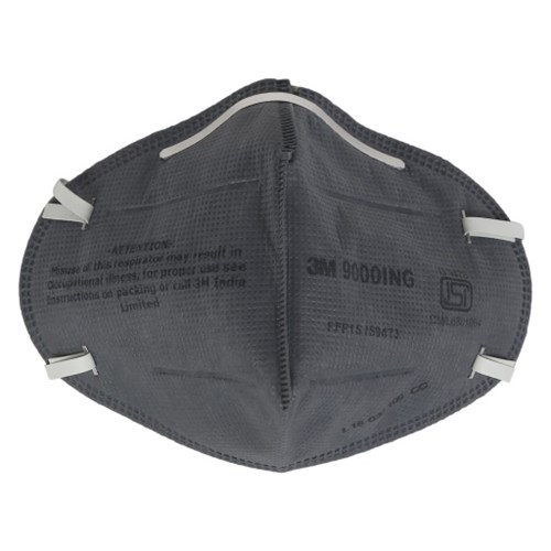 3M 9000ING Dust Mist Respirator, Pack of 100