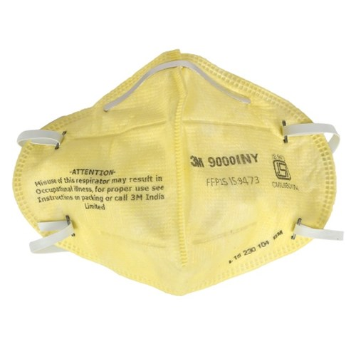 3M 9000INY Disposable Respirator, Pack of 100
