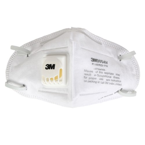 3M 9004V Valved Dust Mist Respirator, Pack of 25
