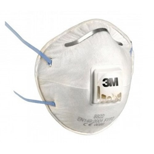 3M 8822 P2 Valved Particulate Respirator