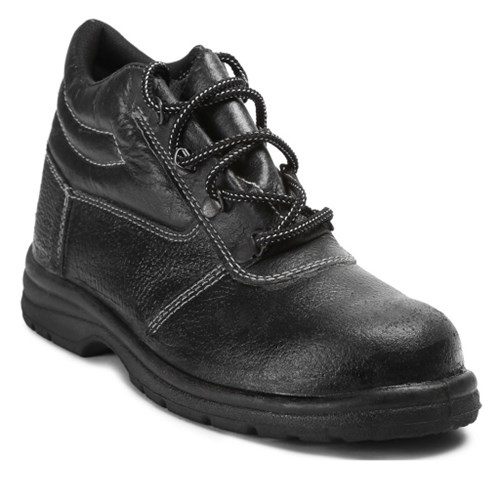 Fortune Hamilton High Ankle Leather Safety Shoes, Steel Toe