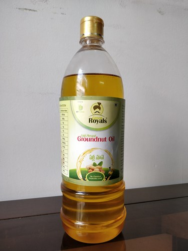 Cold Pressed Groundnut Oil (1L)