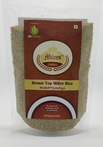 Browntop Millet Rice
