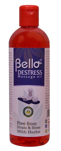 Bello De Stress Massage Oil 200 ML