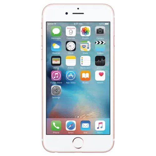 iPhone 6s Rose Gold 64 GB (Renewed)